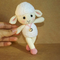 Meryl the Sheep amigurumi pattern - printable PDF