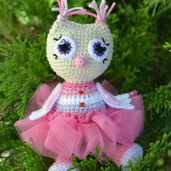 Owl princess amigurumi pattern - printable PDF