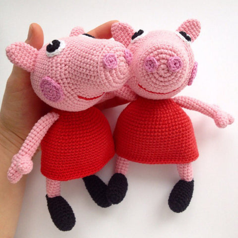 Peppa Pig Crochet Pattern Printable Pdf Amigurumi Today Shop