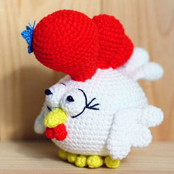 Small rooster amigurumi pattern - printable PDF