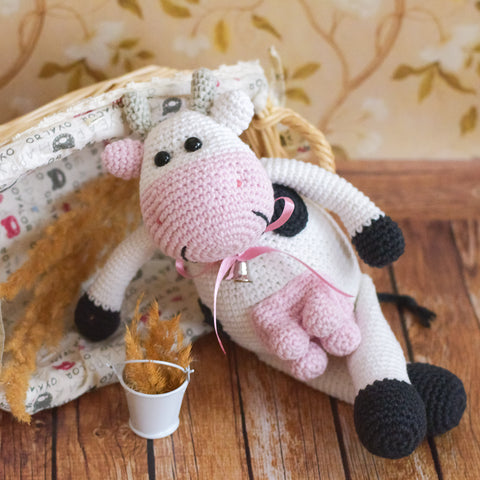 Alpine Cow Crochet Pattern Printable Pdf Amigurumi Today Shop
