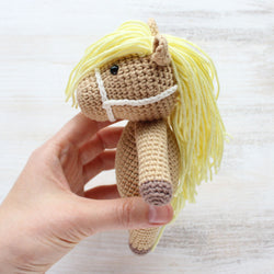 Cuddle Me Pony amigurumi pattern - printable PDF