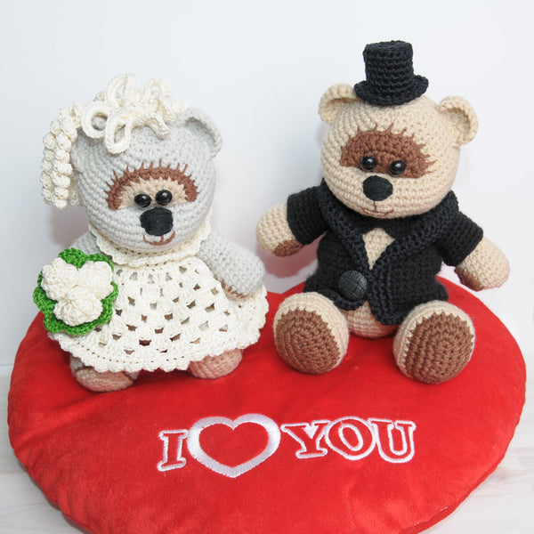 Wedding bears - printable PDF