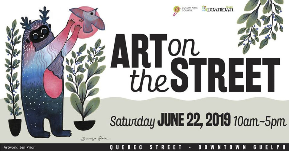 June 22 - Outdoor Mini Market/Art on the Street 2019