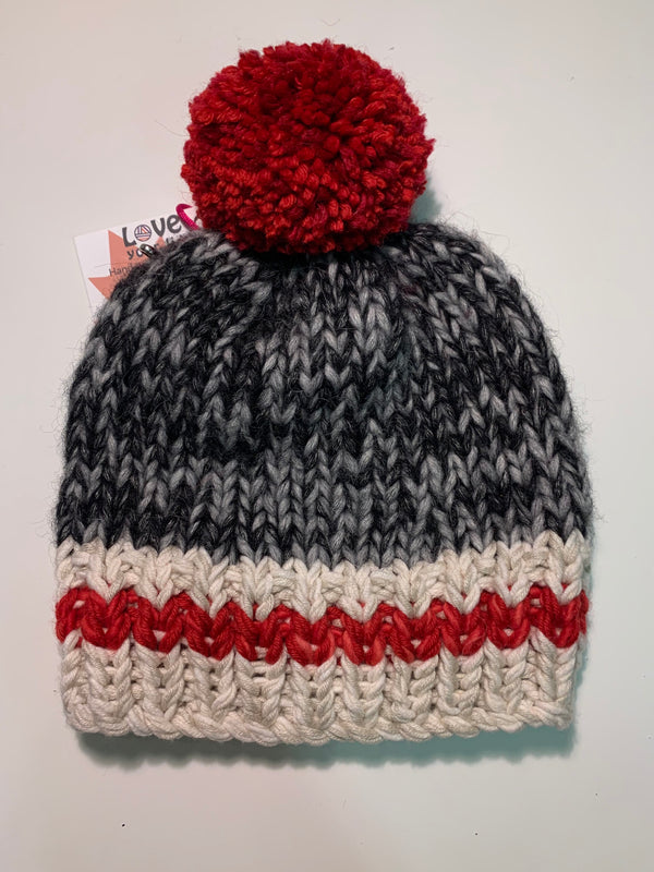 Sock Monkey Kids Hat