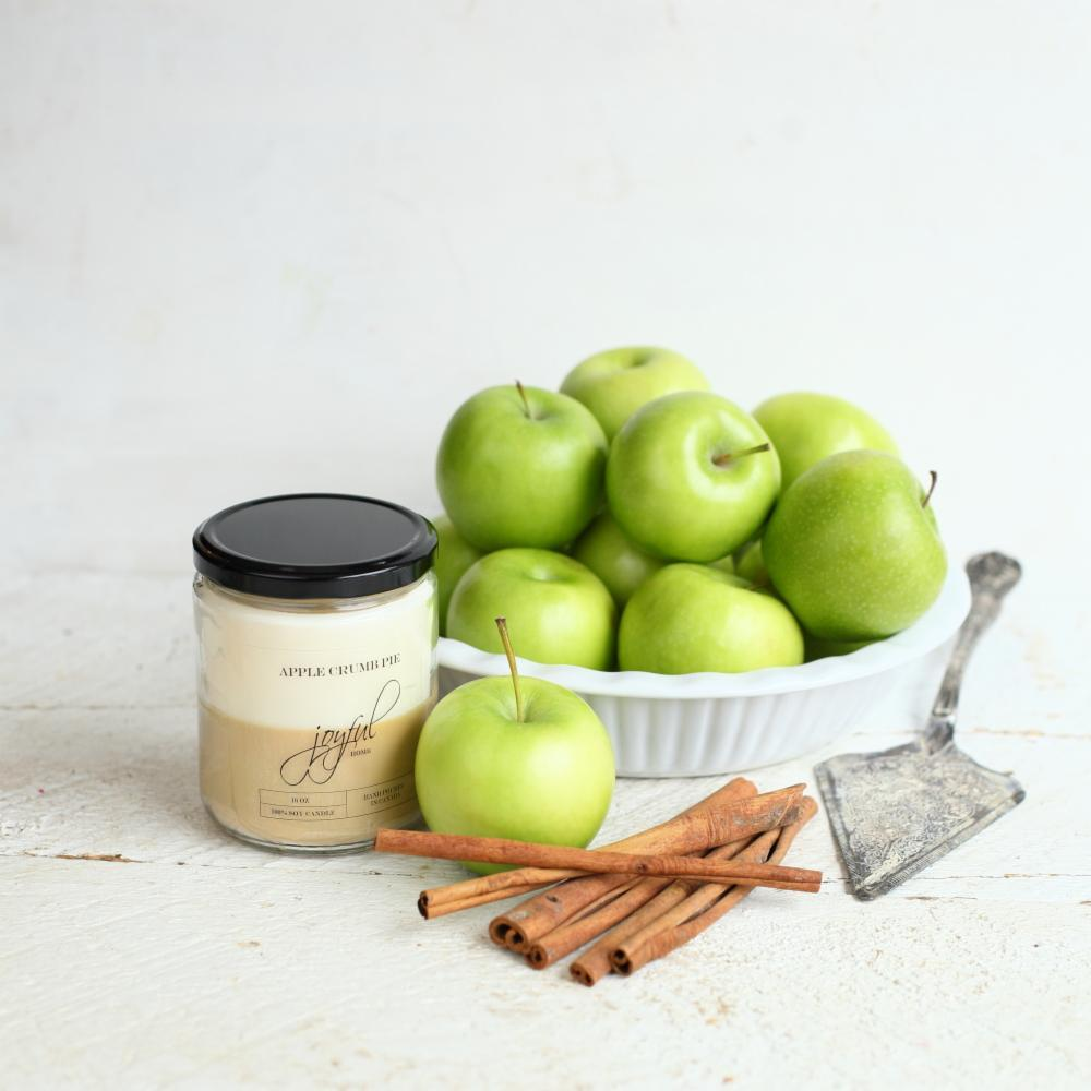 Apple Crumble Pie  Candle 16 oz