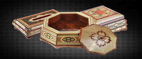 Khatam Maquetry Boxes, Gift Boxes, Jewellery boxes