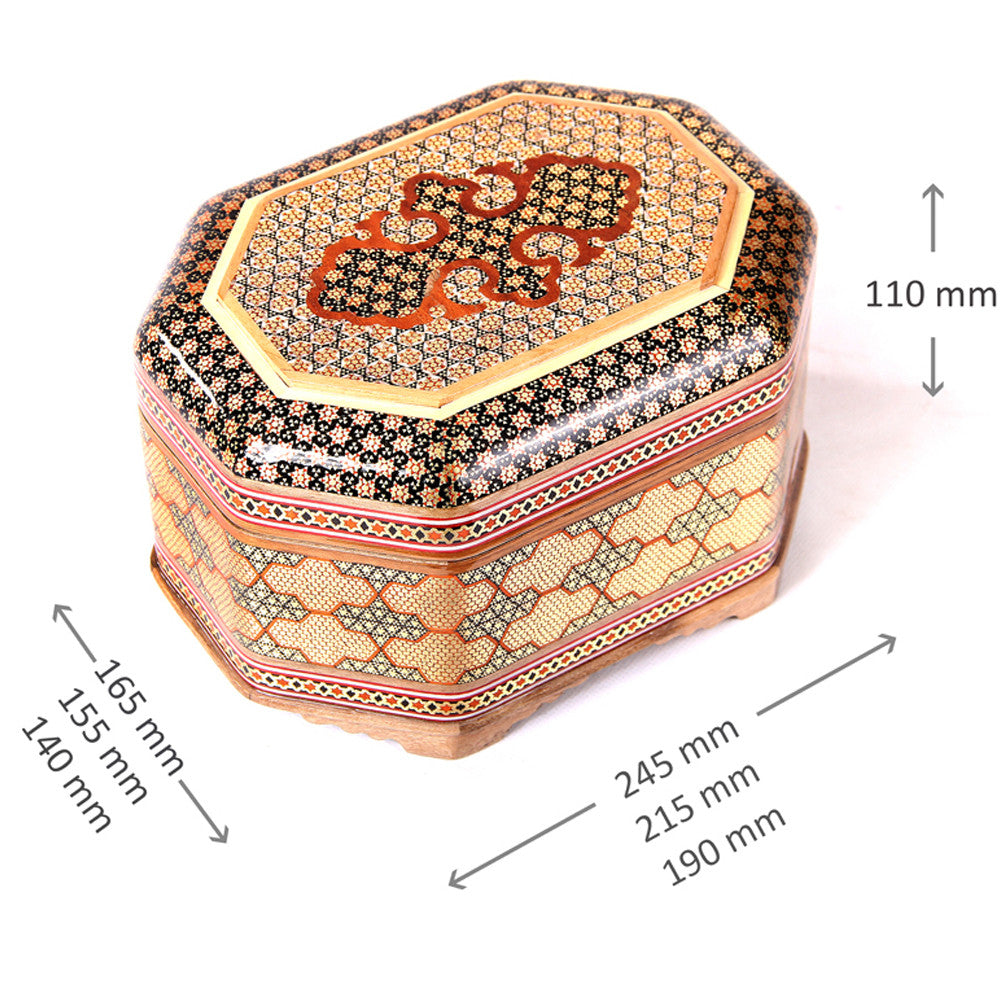 handmade wooden trinket box Christmas gift idea - luxurygiftcraft