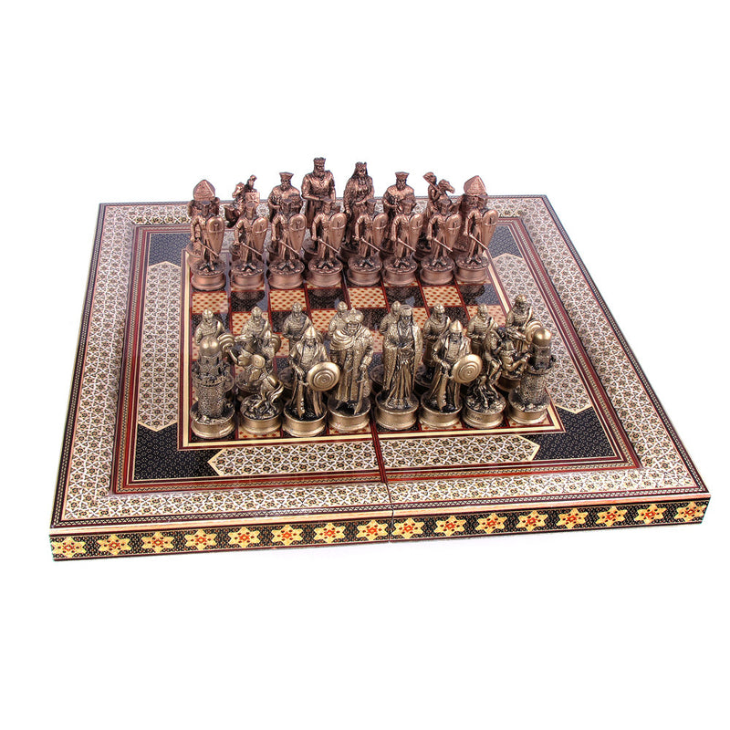 Luxury Handmade Chess Nuts Gift Craft Khatam Marquetry - luxurygiftcraft