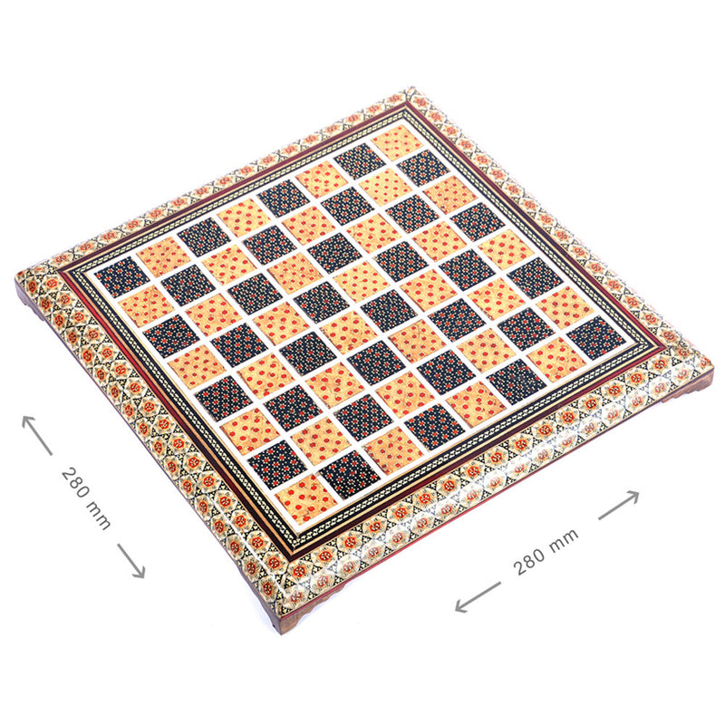 Luxury Handmade Games Chess Board Gift Craft Marquetry