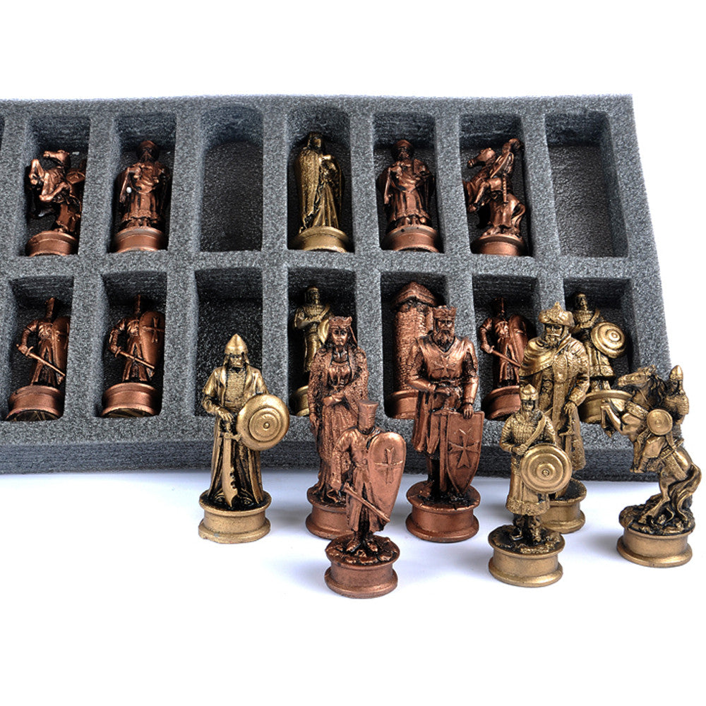 luxury chess pieces free UK delivery