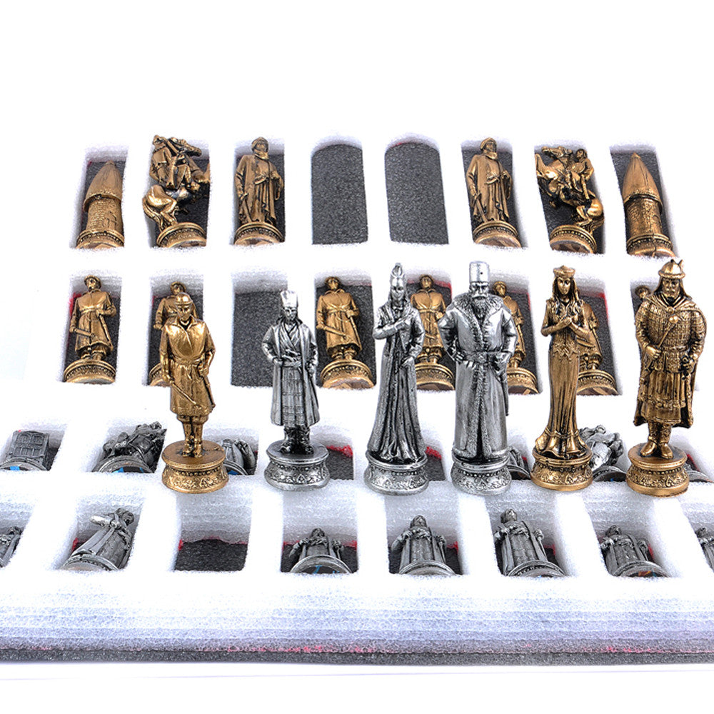 Luxury chess pieces free UK delivery - luxurygiftcraft
