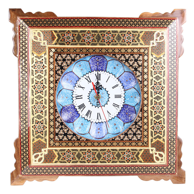 Luxury Handmade Mina Clock Craft Chic Gift Home Furniture Decoration