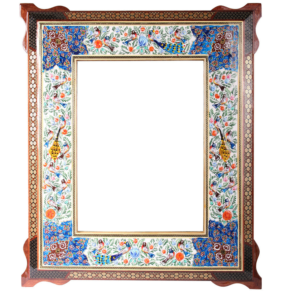 Luxury Miror Frame Marquetry Decorative Handmade Gift Craft