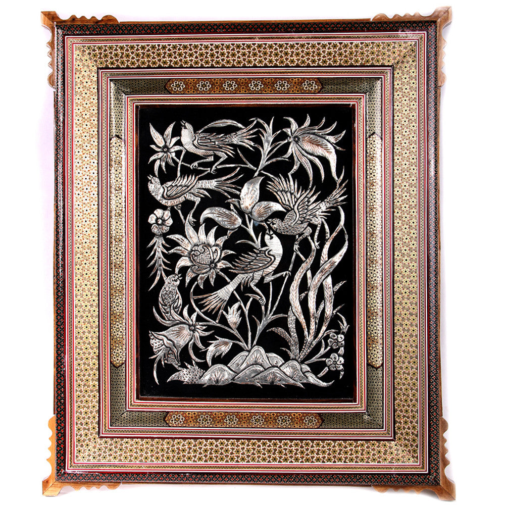 Wall Hanging Frames Decorative Handcrafted Ornament Engraved Mothers