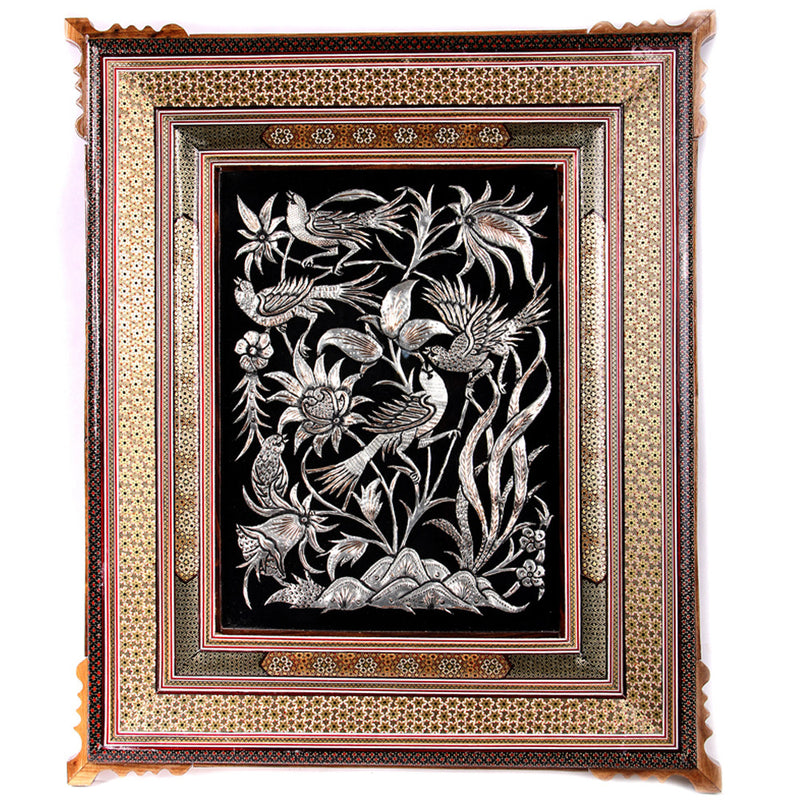 Wall Hanging Frames Decorative Handcrafted Ornament Engraved Mothers day gift - luxurygiftcraft