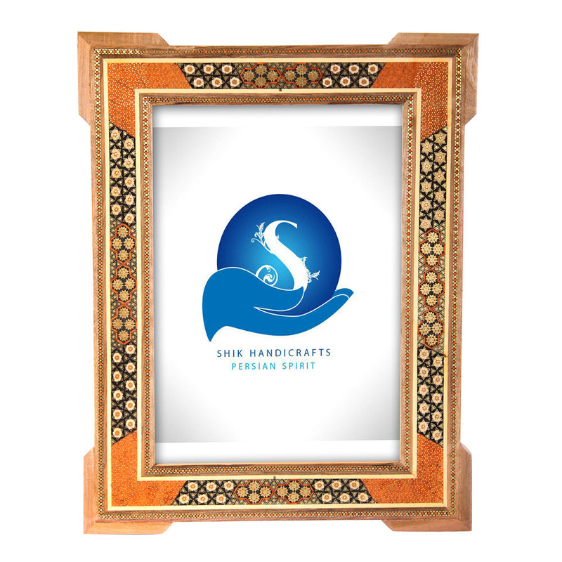 Luxury Empty Khatam Picture Frame Inlaid Decorative Craft Handmade Gift