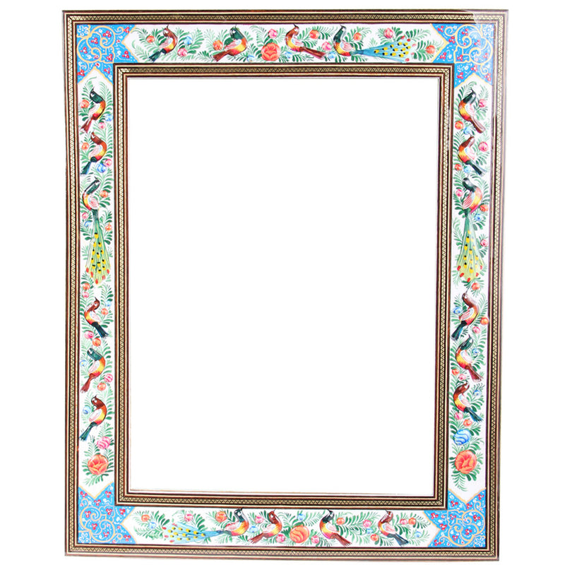 Wall Hanging Wood Mirror Decorative Handcrafted Ornament Gift - luxurygiftcraft