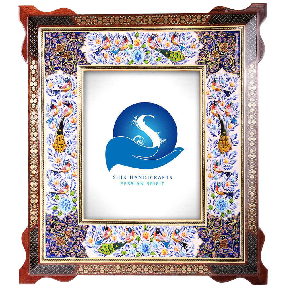Luxury Khatam Photo Frame Inlaid Decorative Craft Handmade Gift