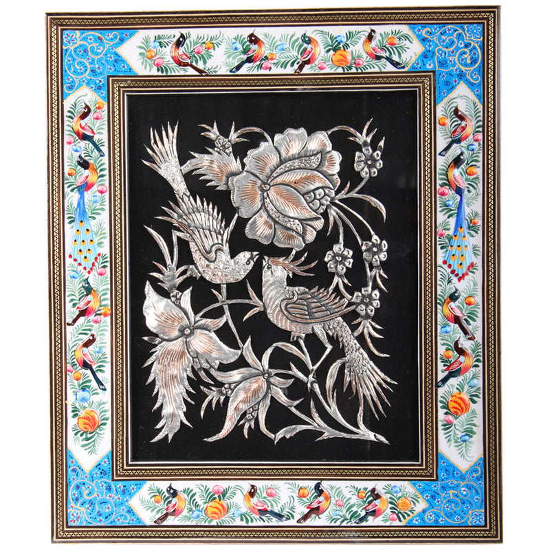 Luxury Picture Frame Engraved Copper Decorative Handmade Gift Craft