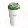 Green Swirl CHiLLCAP Bundle - White Tumbler