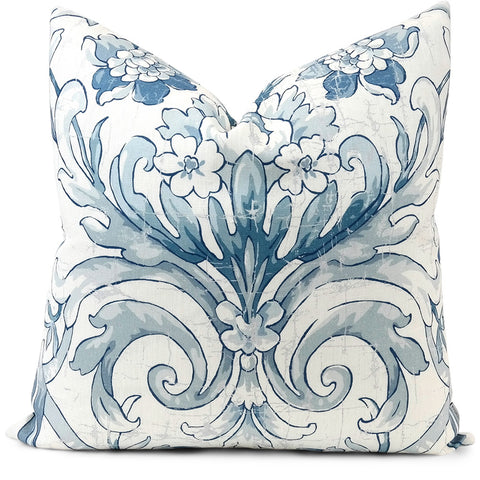 Avenham Lake Pillow Cover | Front View | Shown in 20x20