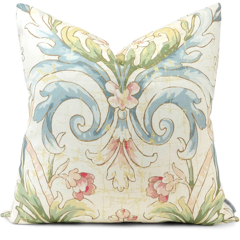 Avenham Primrose Pillow Cover | Front View | Shown in 20x20