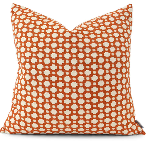 Betwixt Spark/Ivory Pillow Cover | Front View | Shown in 20x20