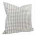 Pyramid Print Cement Pillow Cover - Angled View (Shown in 20x20)
