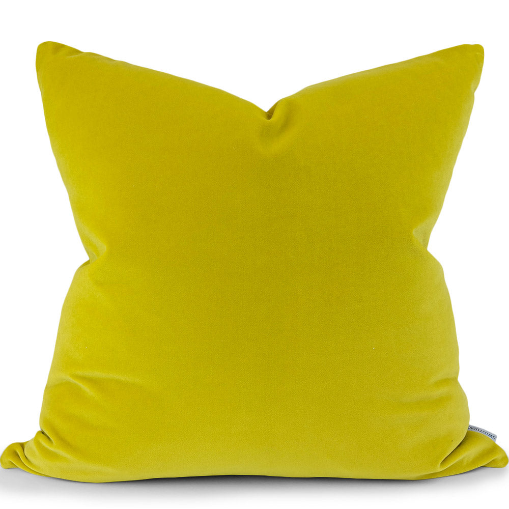 Jackson: Goldenrod Giorgio Velvet - Front View (Shown in 20x20)