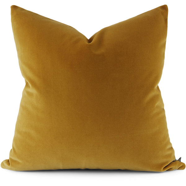 Jackson:  Harvest Tesoro Velvet Pillow Cover | Shown in 20 x 20