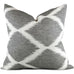 Inez Grey Seal 20x20 Pillow Cover - Front View