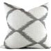 Inez Grey Seal 20x20 Pillow Cover - Back View