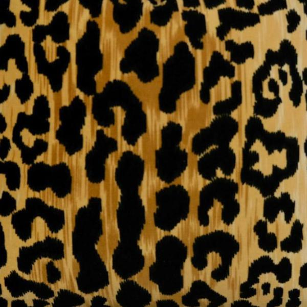 Leopard Velet Fabric Swatch