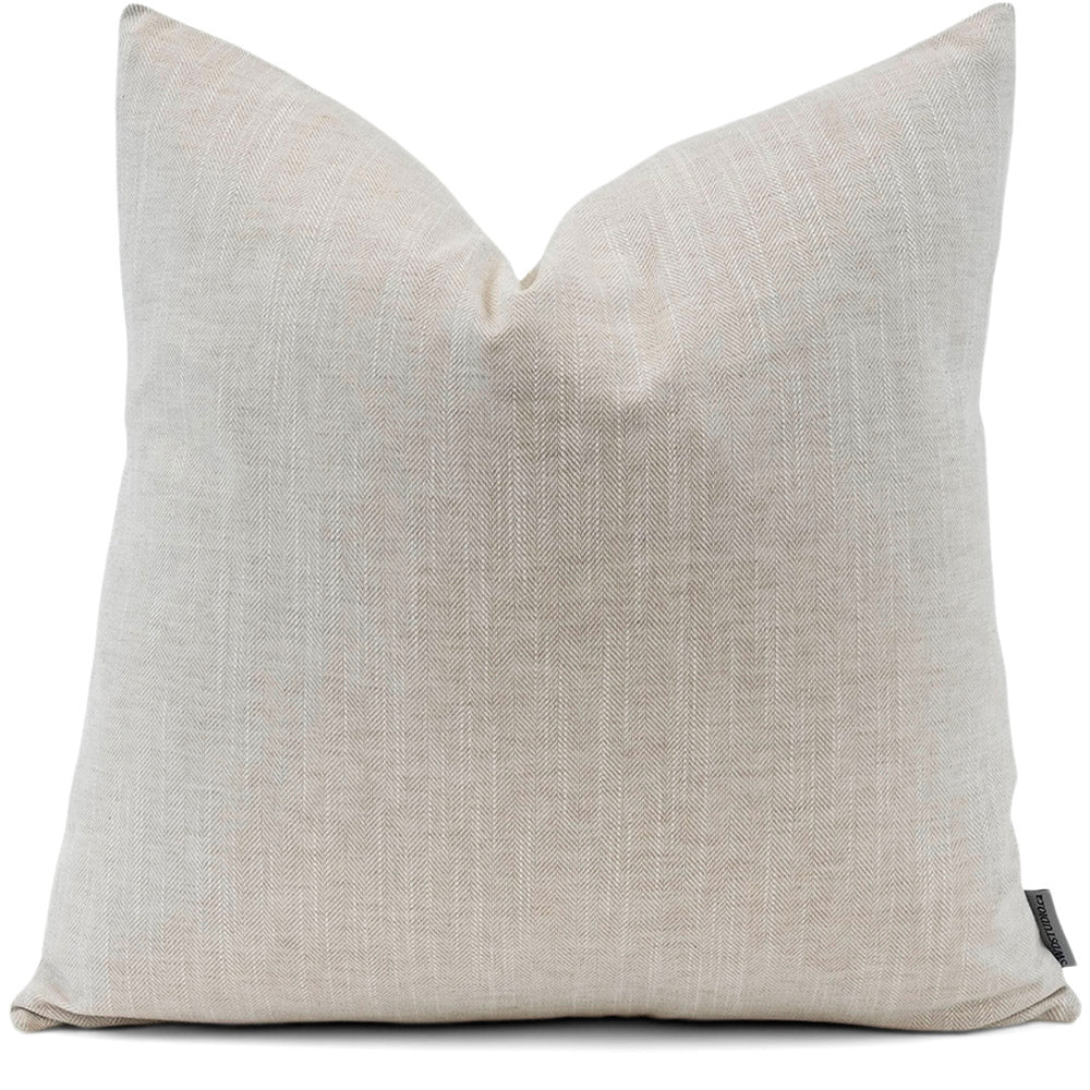 Linder Linen Pillow Cover | Front View | Shown in 20x20