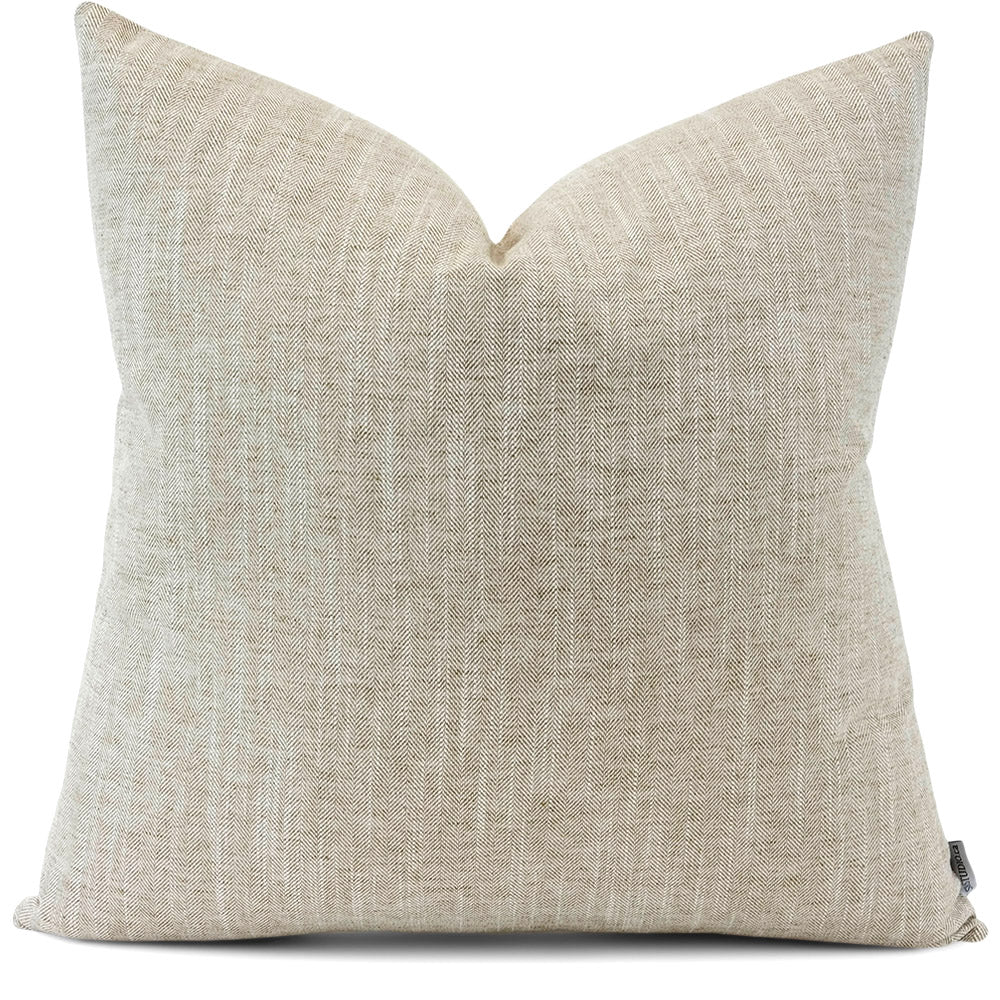 Linder Rattan Pillow Cover | Front View | Shown in 20x20