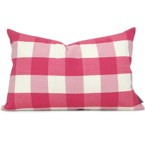 Melbury Buffalo Check in Camillia (In-Stock):  Shown in 11x17)