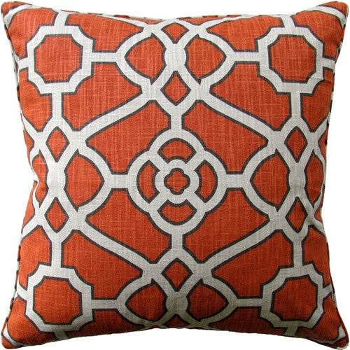 Pavillion Fretwork Mandarin - Set of 2