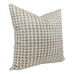 Pyramid Print Truffle Pillow Cover - Angled View (Shown in 20x20)