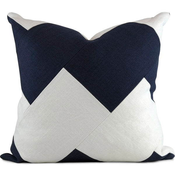 Chevron Slubby Linen - Set of 2