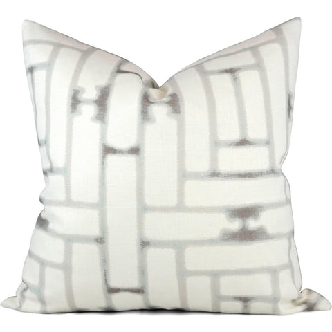 "ROYAL MAZE HAZE Pillow Cover - Shown in 20""x20"""