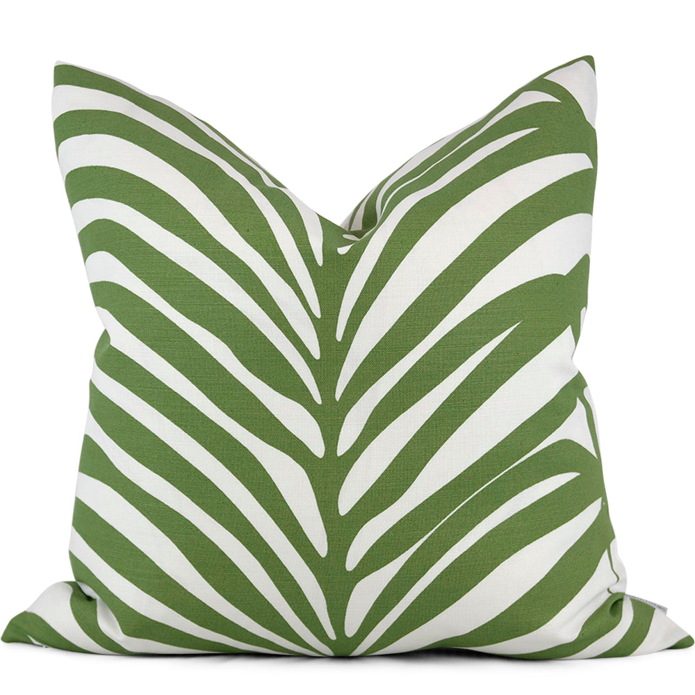 Zebra Palm Linen Jungle