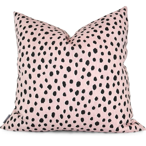 "FAUNA BLUSH Pillow Cover - Shown in 20""x20"""
