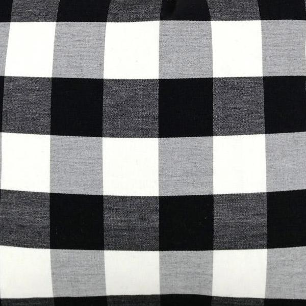 Melbury Buffalo Check in Ebony Fabric Swatch