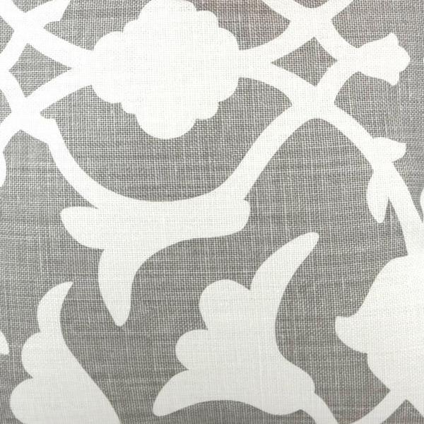 Poetical in Grey Fabric Swatch
