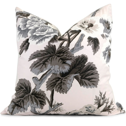 "PYNE HOLLYHOCK in Blush Pillow Cover - Shown in 20"" x20"""