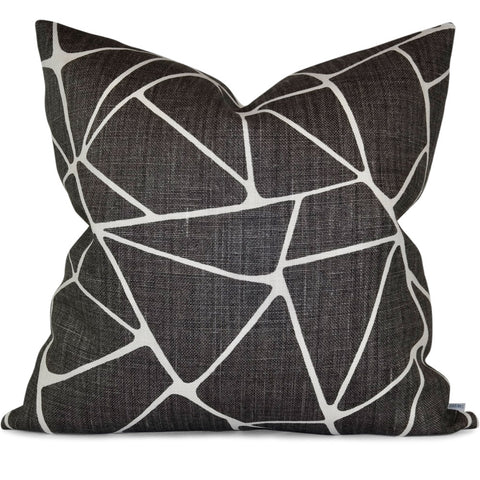 "TO THE POINT MINK Pillow Cover - Shown in 20""x20"""