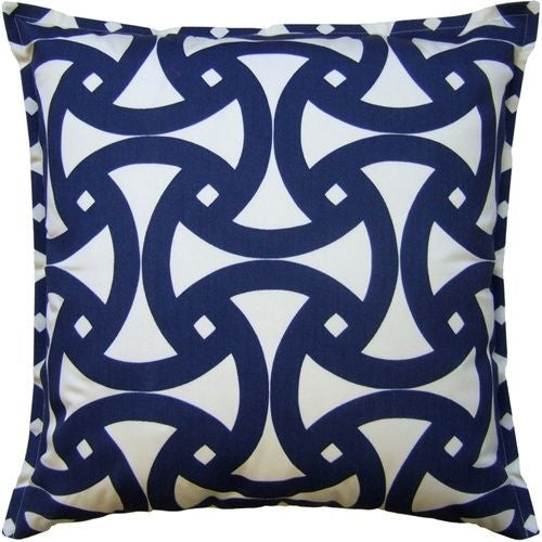 Santorini Marine Pillow Cover