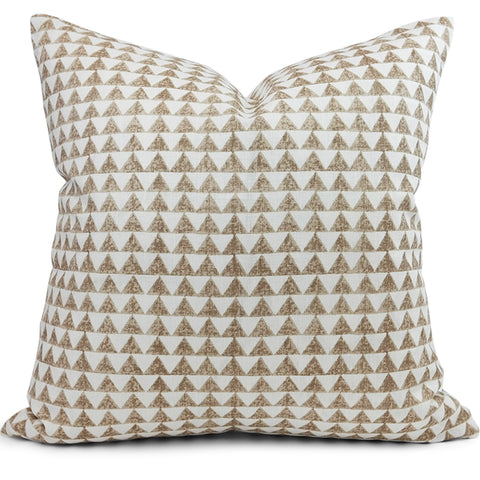 Pyramid Print Truffle Pillow Cover - Front View (Shown in 20x20)