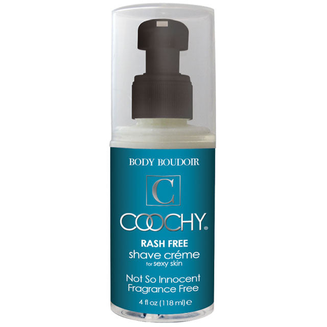 Coochy Shave Cream Fragrance Free 4oz.